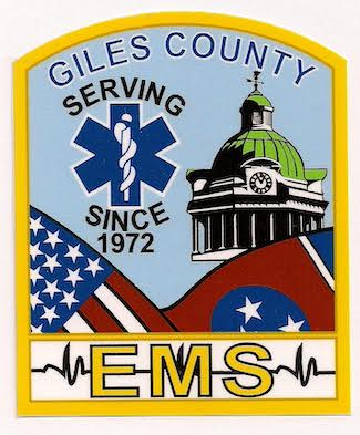 patch for Giles County EMS